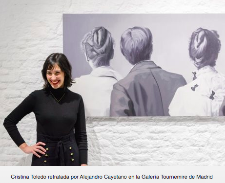 "Quote of the Tournemire Gallery in "" Interview with Cristina Toledo"" by Diana Velásquez, Platform for Contemporary Art, 08/07/19"