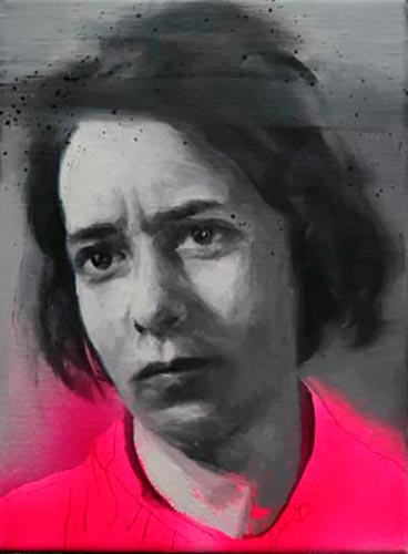 María Carbonell, Fase 1. 2016, oil on linen, 33 x 24 cm